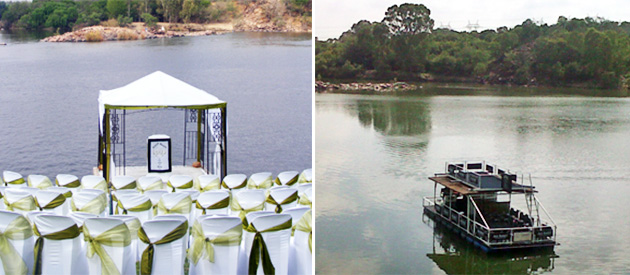 heaven on vaal, accommodation, bed and breakfast, self catering, apartments, wedding venue, events, functions, fishing, vaal river, boat cruises