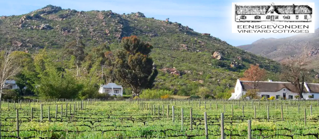 EENSGEVONDEN VINEYARD COTTAGES, BREEDEKLOOF